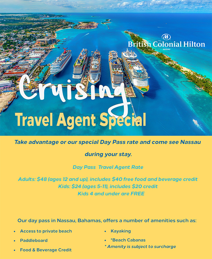 TThe British Colonial Hilton | Cruising Travel Agent Special