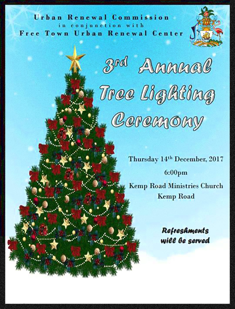 3rd Annual Tree Lighting Ceremony