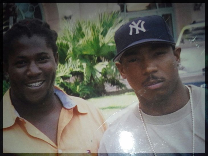 Tyrone Wilson and Celebrity Rapper Ja Rule