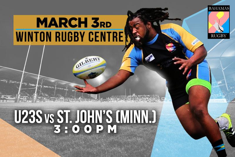 Bahamas Rugby | U23s v St. John's (Minn.)