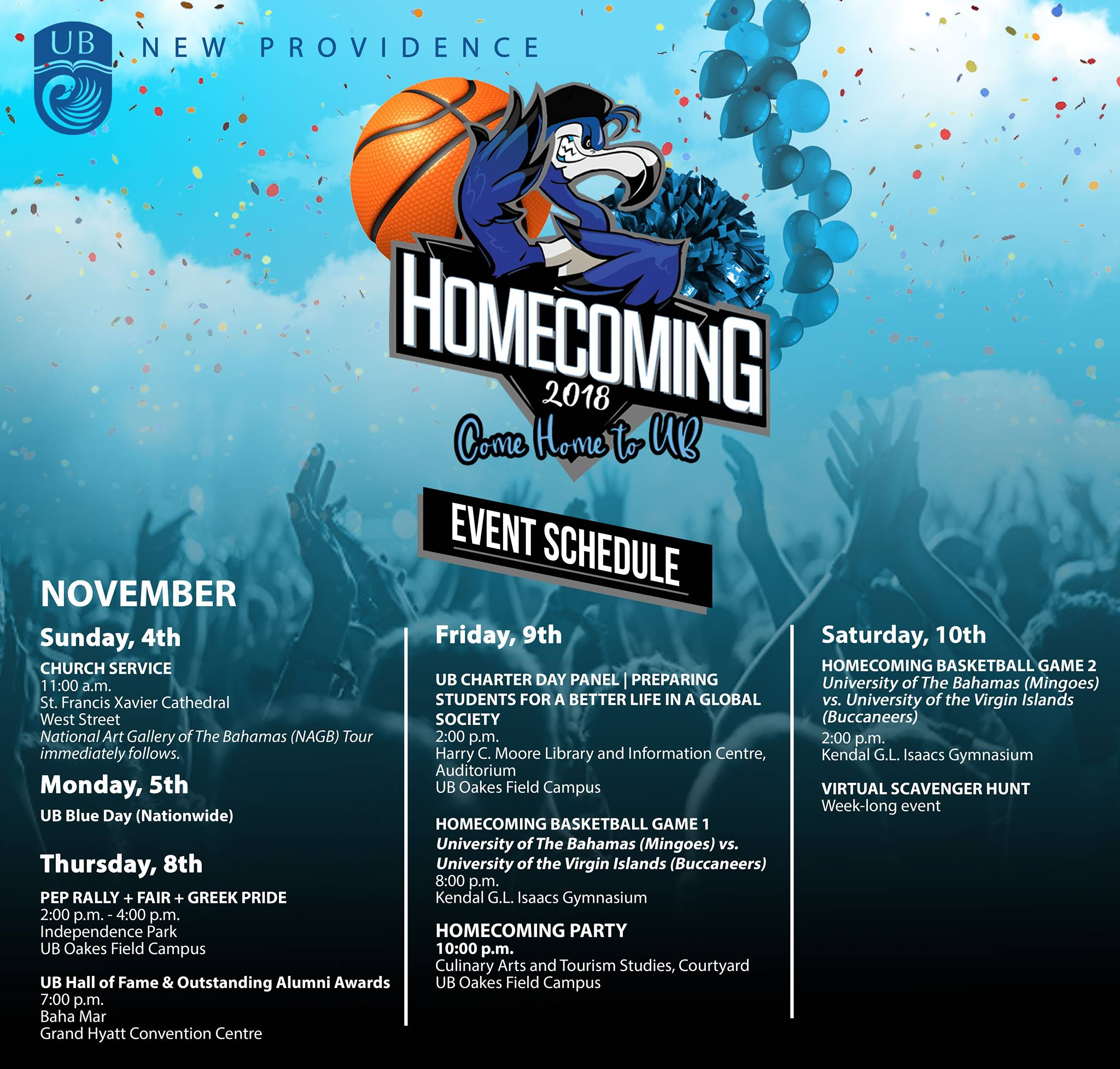 UB Homecoming 2018