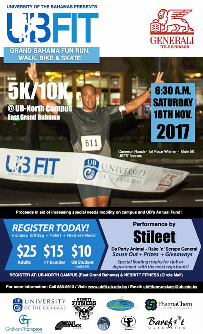 Get Fit with UB Fit Northern Run, Walk, Skate or Bike