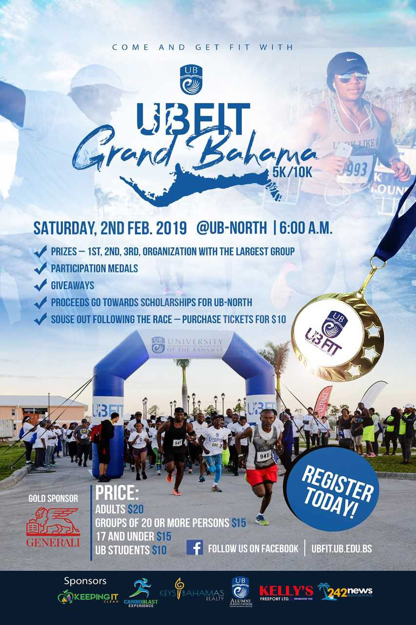 UB Fit Grand Bahama 5K/10K
