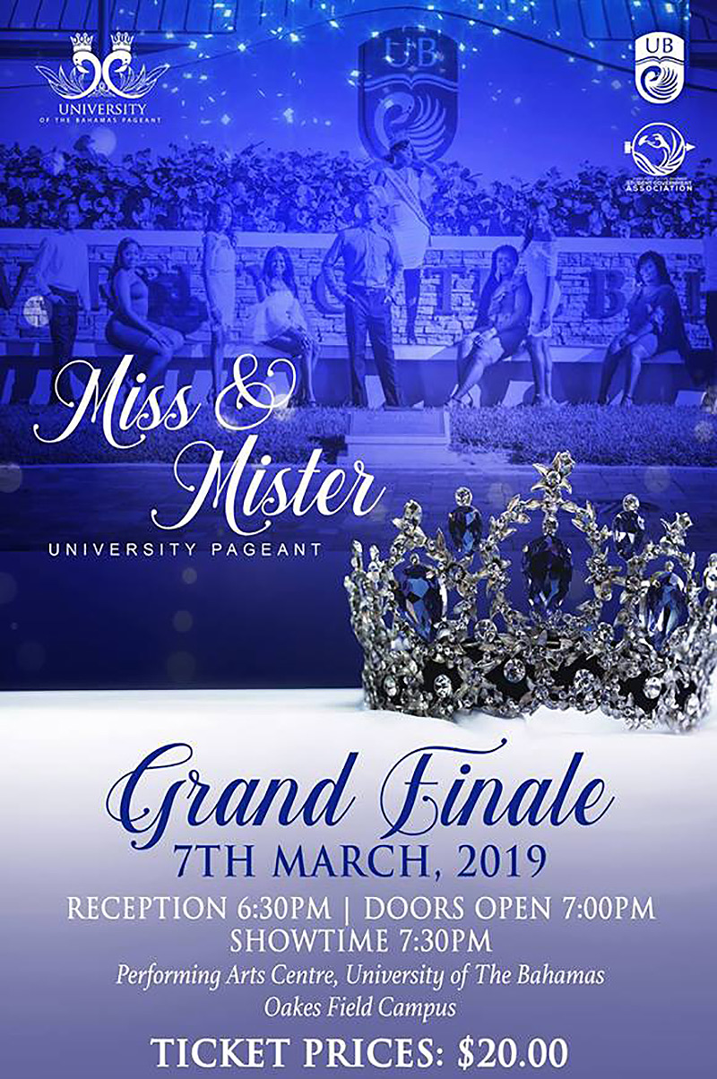 Miss & Mister University of the Bahamas 2019 Grand Finale