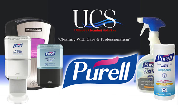 Ultimate Cleaning Solutions The official distributor for Purell