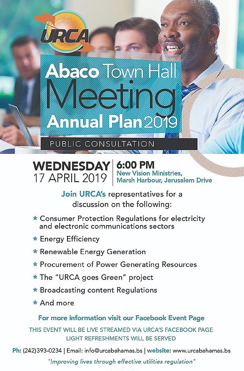 Abaco URCA Town Hall Meeting