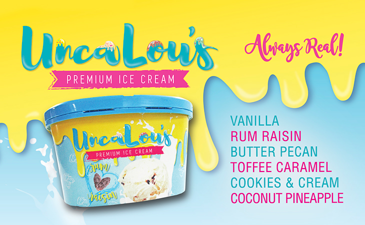 Unca-Lou Ice Cream at Fun Foods Wholesale Ltd