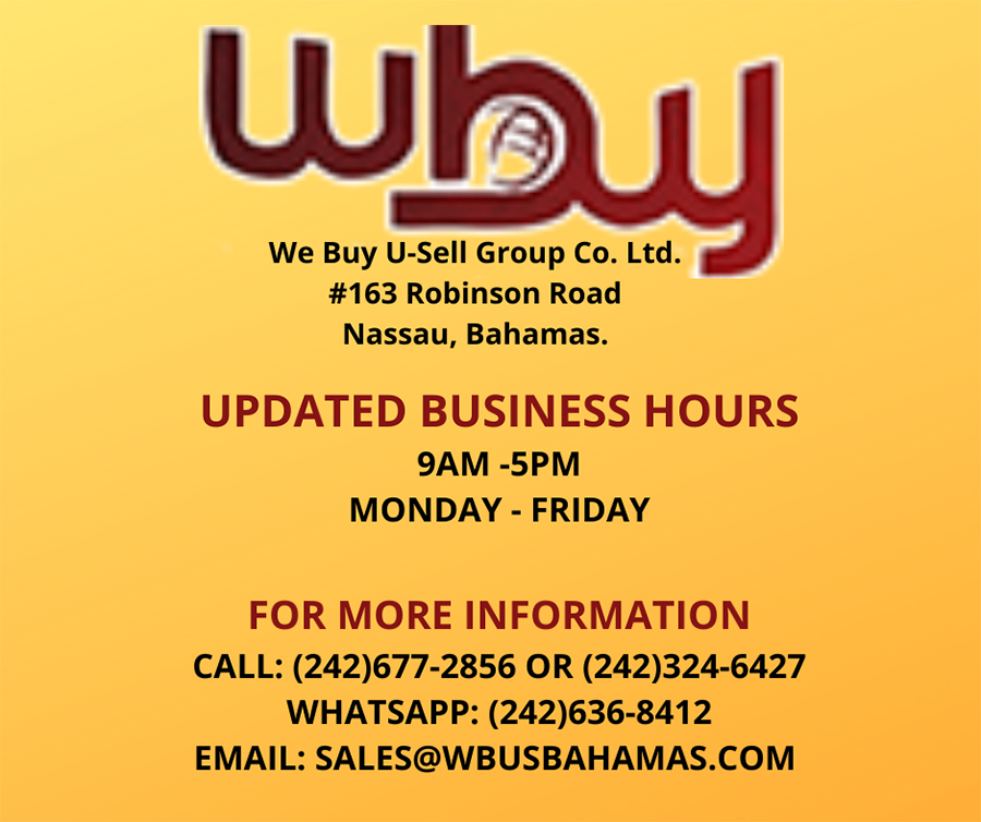 We Buy - U Sell Updated Business Hours