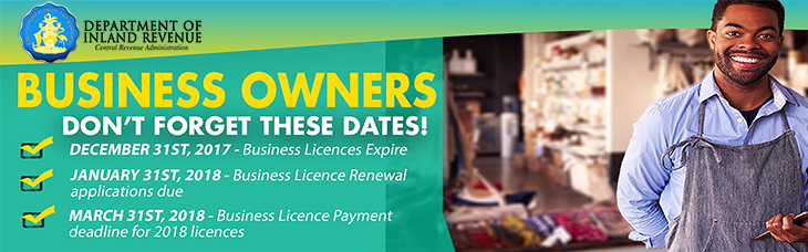 Department of Inland Revenue | Business Owners Don't Forget These Dates