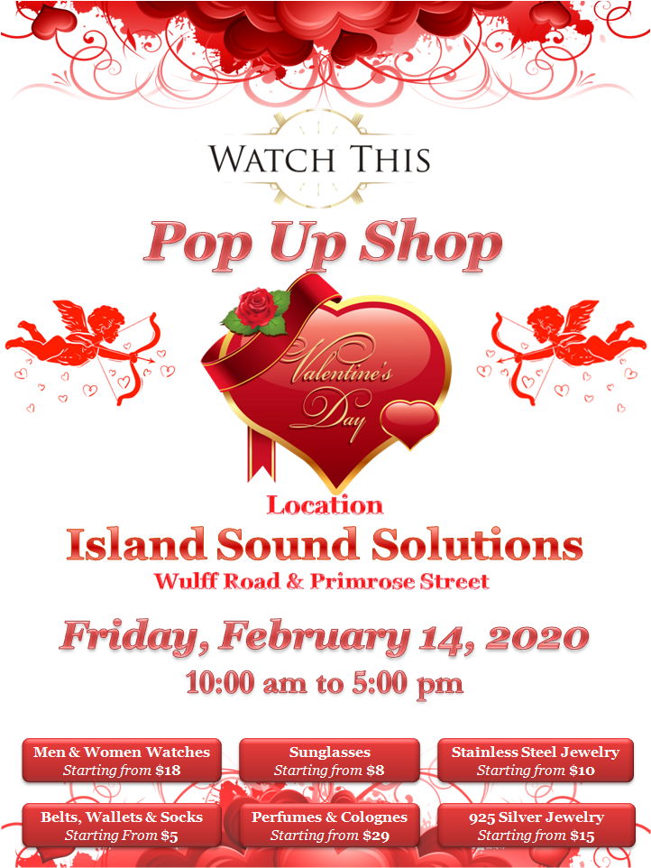 Pop Up Shop at Island Sound Solutions