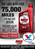 Valve Max Life