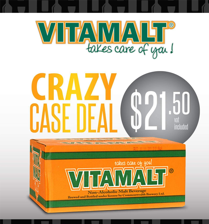 Commonwealth Brewery Ltd | This summer purchase a case of Vitamalt Classic or Vitamalt Plus for only $21.50 at any participating 700 Wines and Spirits nationwide!