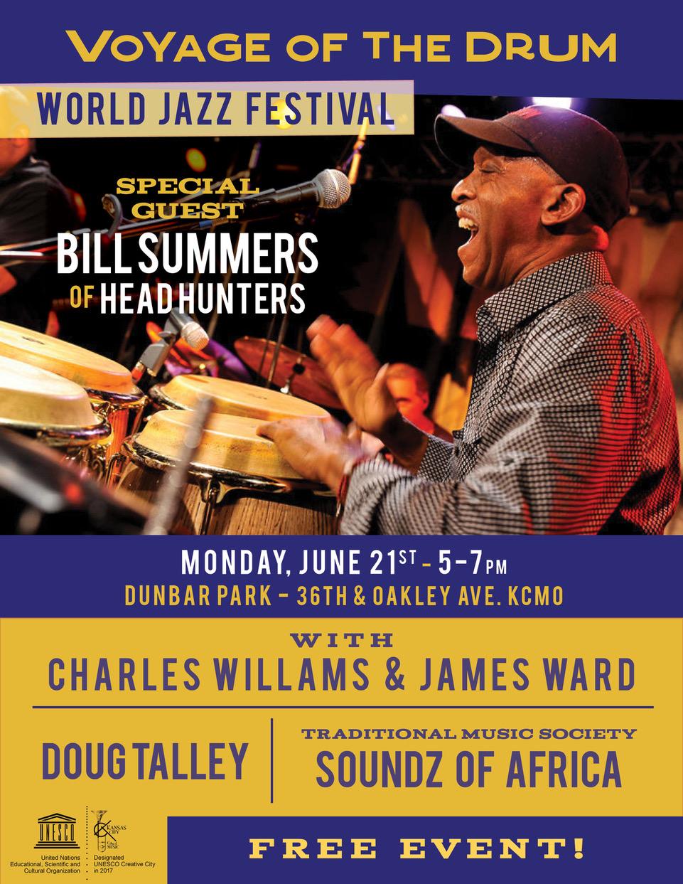Voyage of the Drum World Jazz Festival