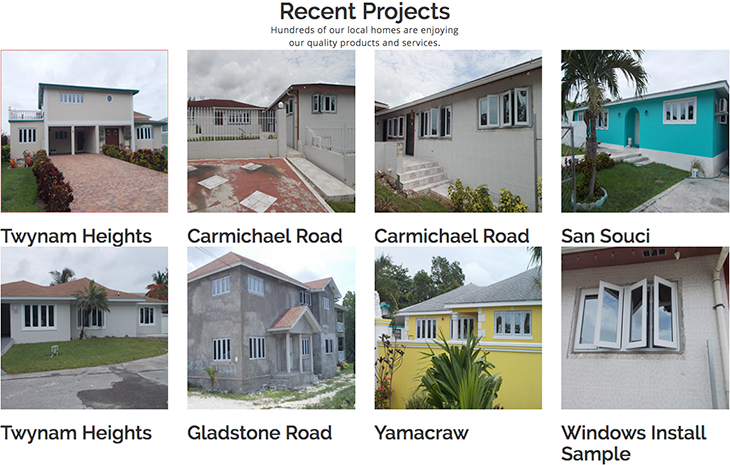 Recent Projects. Hundreds of our local homes are enjoying our quality products and services.
