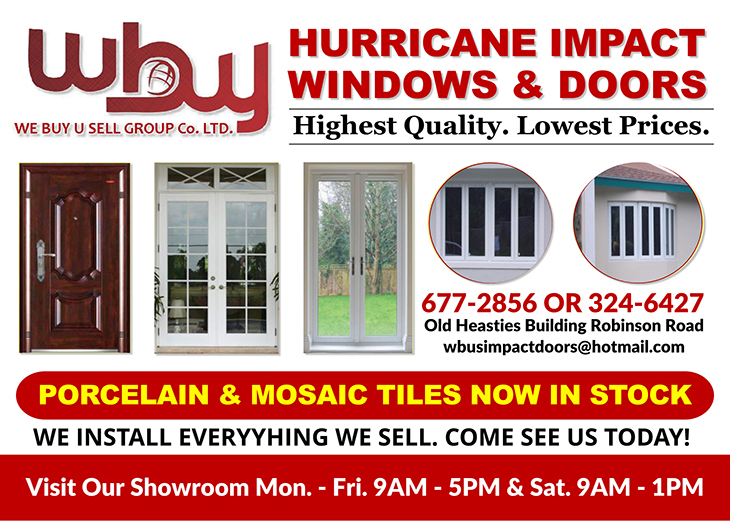 Hurricane Impact Windows and Doors At We Buy - U Sell