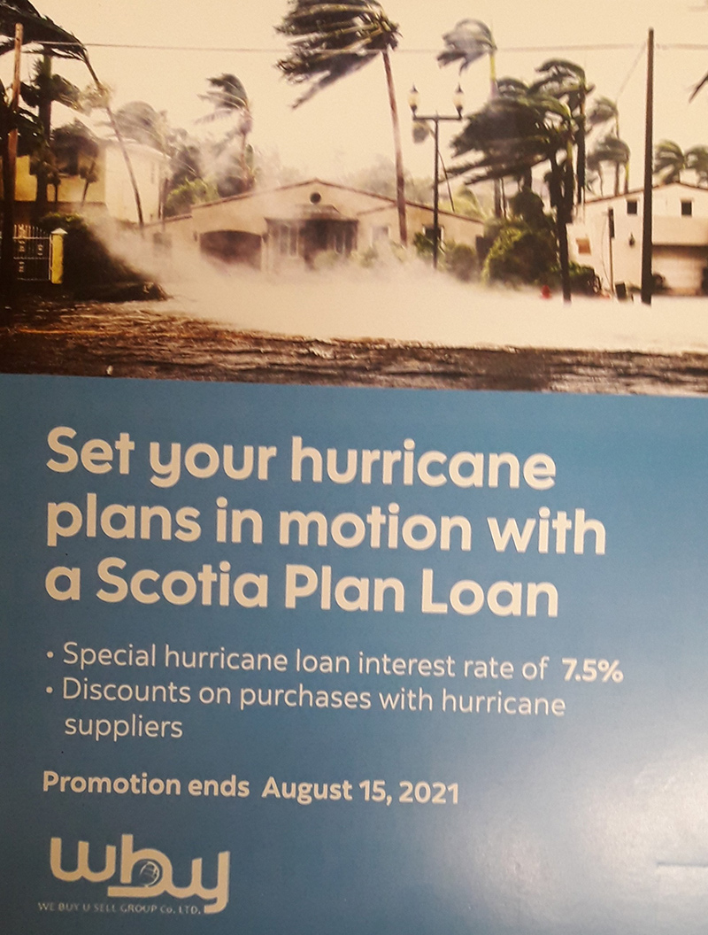 We Buy - Set Your Hurricane Plans In Motion With A Scotia Plan Loan