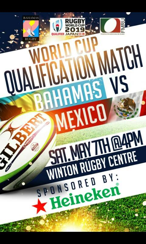 Rugby World Cup Qualification Match Bahamas vs Mexico