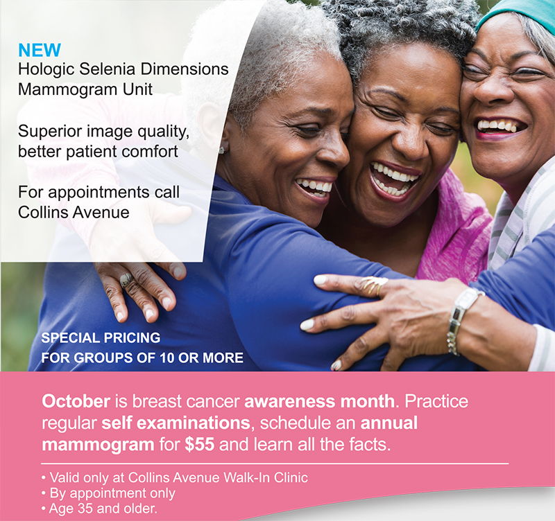 Breast Cancer Awareness Month At Walk-In Medical Clinic