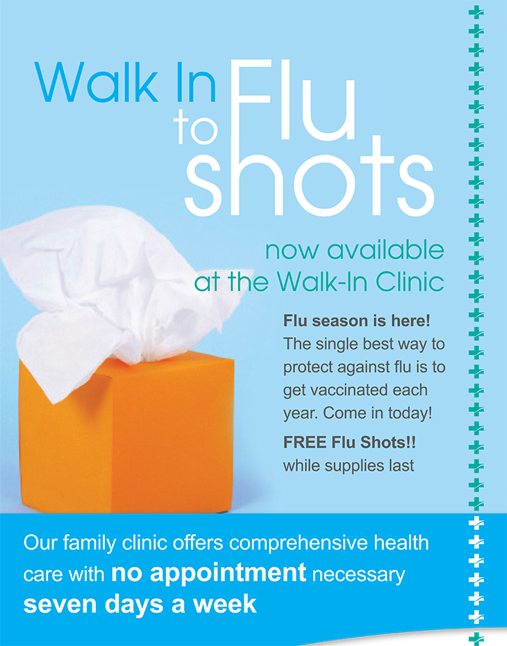 Walk-In Clinic Free Flu Shots