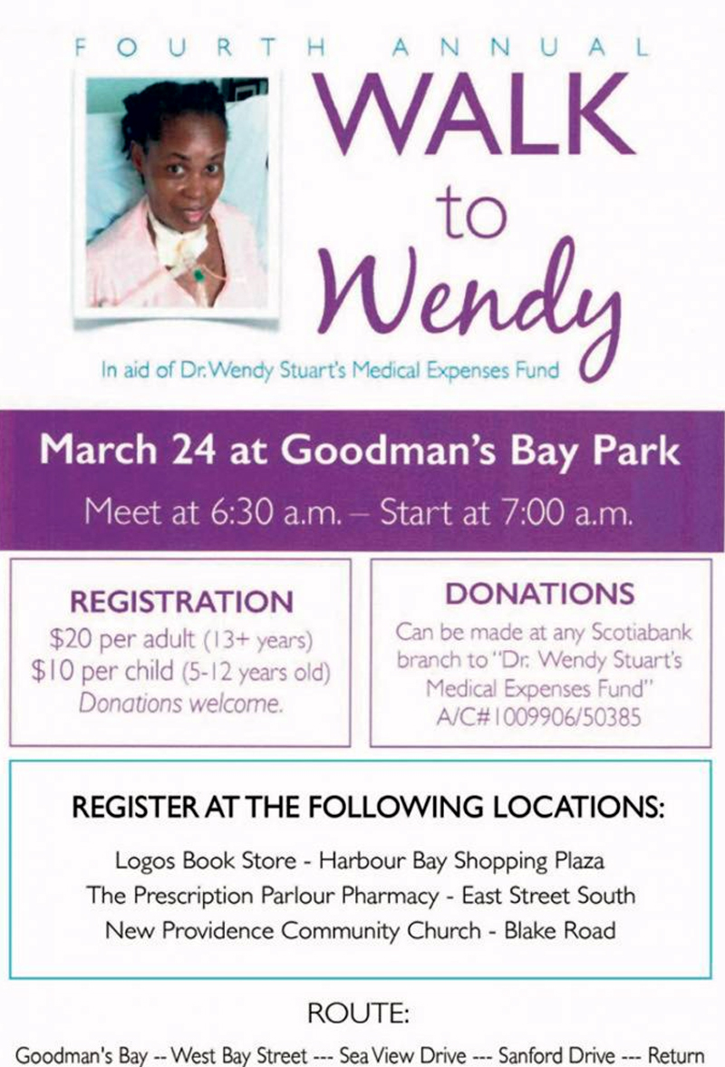 Fourth Annual Walk To Wendy