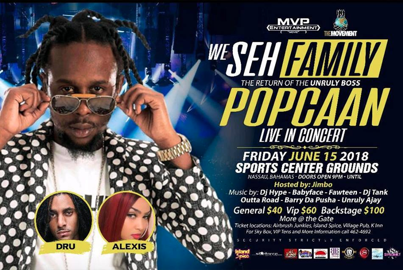 We Seh Family - The Return Of Popcaan Live In Concert