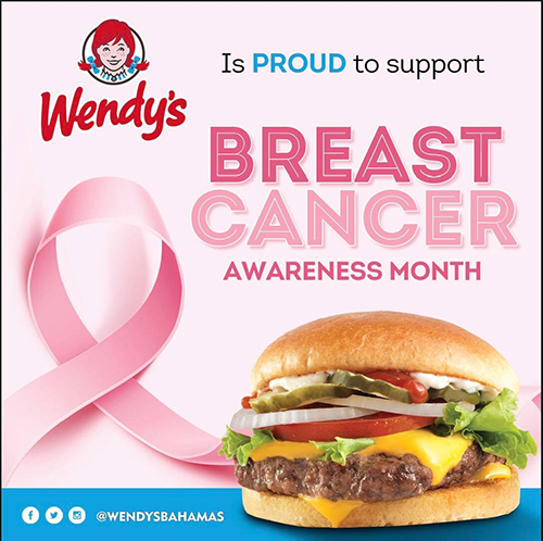 Wendy's | Breast Cancer Awareness Month!