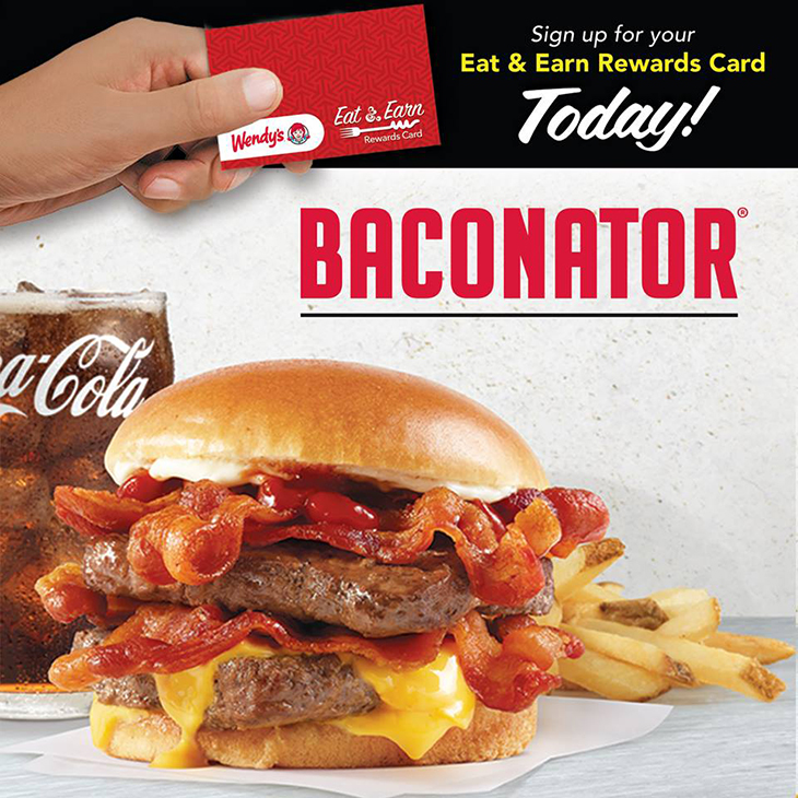 NEW Fresh Baconator at Wendys!