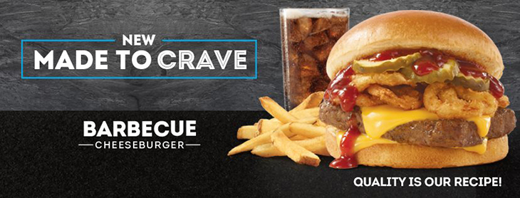 A new burger is here! Made to Crave - Barbecue Cheeseburger