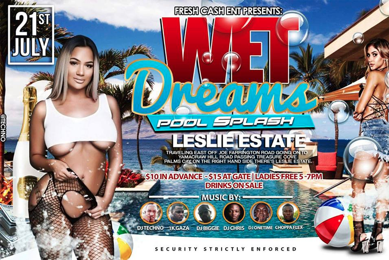 Wet Dreams Pool Party Presented by Fresh Cash Ent