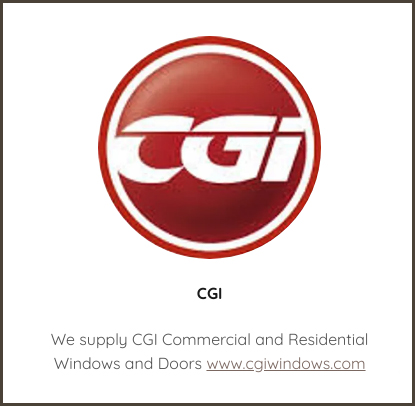We supply CGI Commercial and Residential Windows and Doors