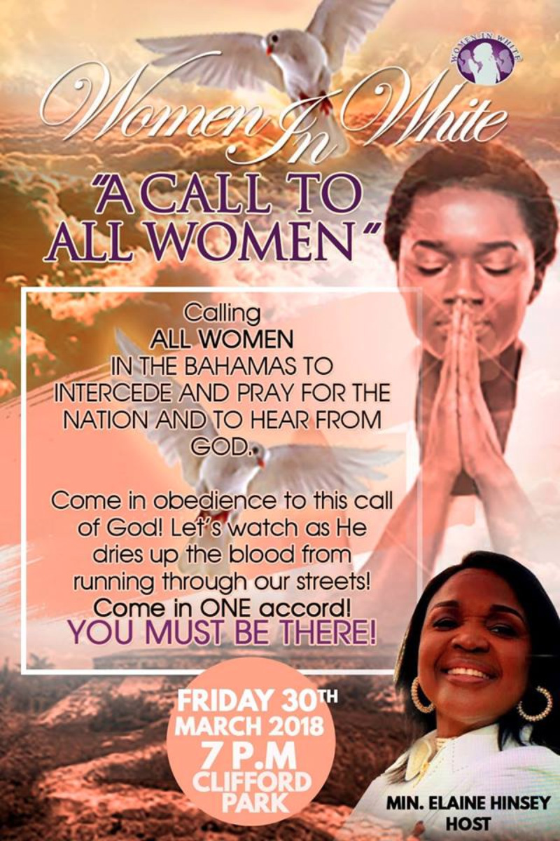 National Call To Prayer Hosted by Women In White
