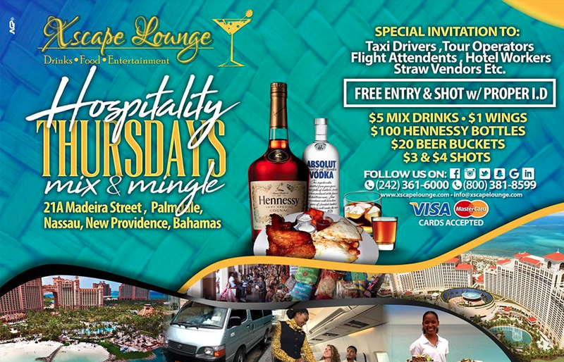 Xscape Lounge Hospitality Thursdays