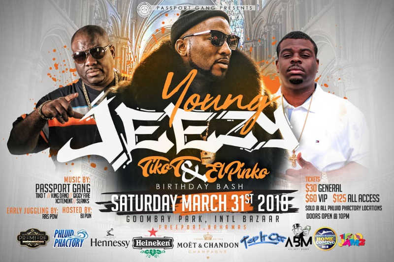 Tiko T & El Pinko Birthday Bash Featuring Young Jeezy Live