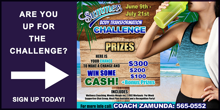Zamunda Fitness Body Transformation Challenge