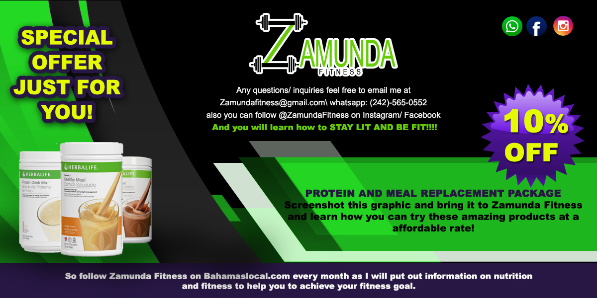 Screenshot this graphic and bring it to Zamunda Fitness and learn how you can try these amazing products at an affordable rate!