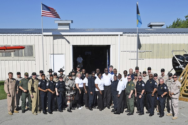 Pictured Are Members Of The U S And Bahamas Government Agencies Working Together At 2016 Eaa Airventure Conference Taking Place In Oshkosh Wisconsin