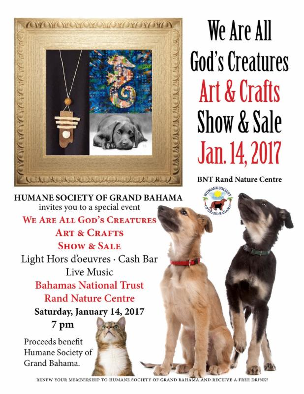 We Are All God's Creatures Arts and Crafts Show and Sale