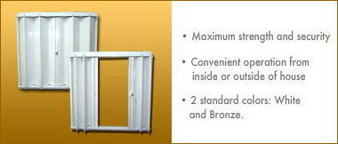 Accordion Shutters: Maximum Strength and Convenient