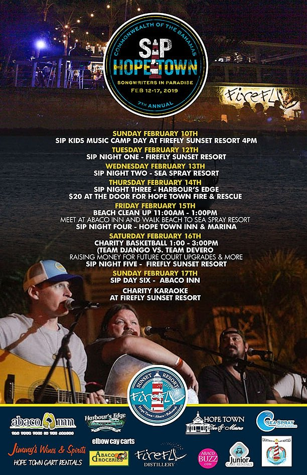 7th Annual Patrick Davis Songwriter's Festival | Hopetown