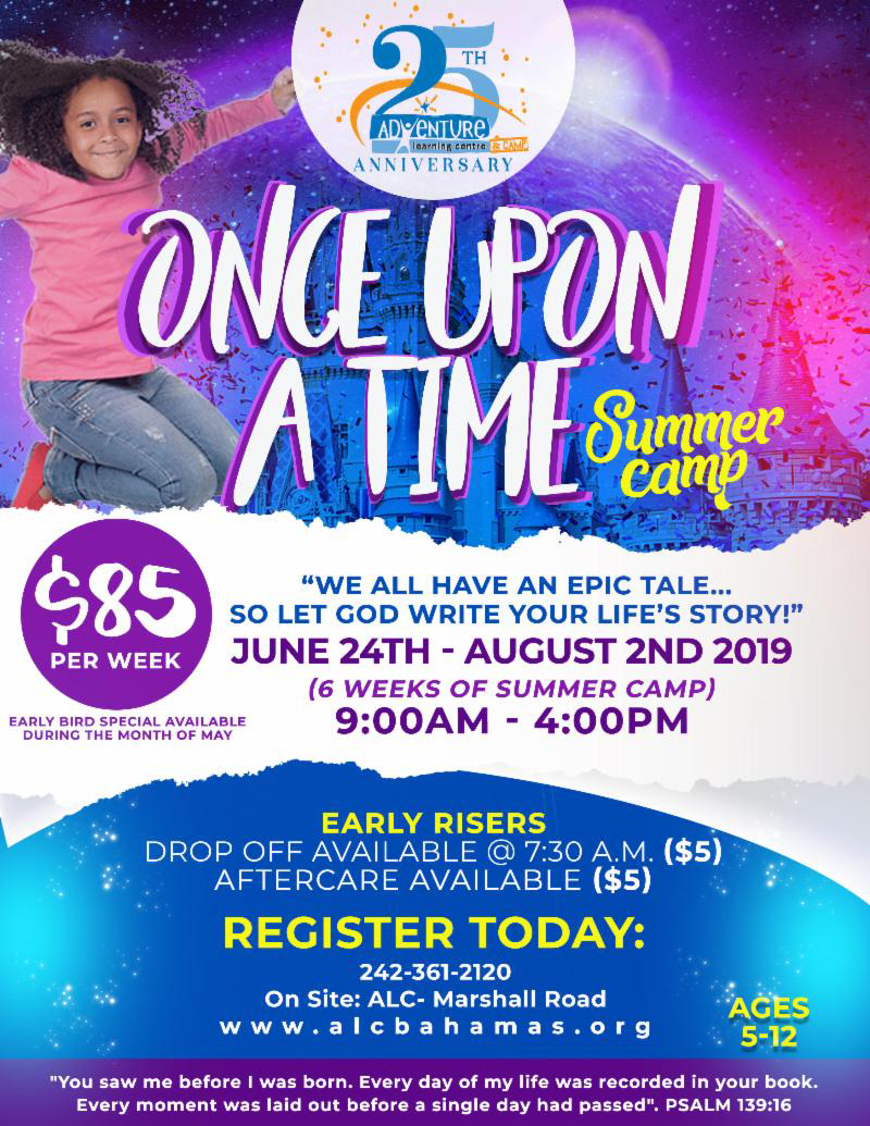 Adventure Learning Centre & Camp Presents Once Upon A Time Summer Camp