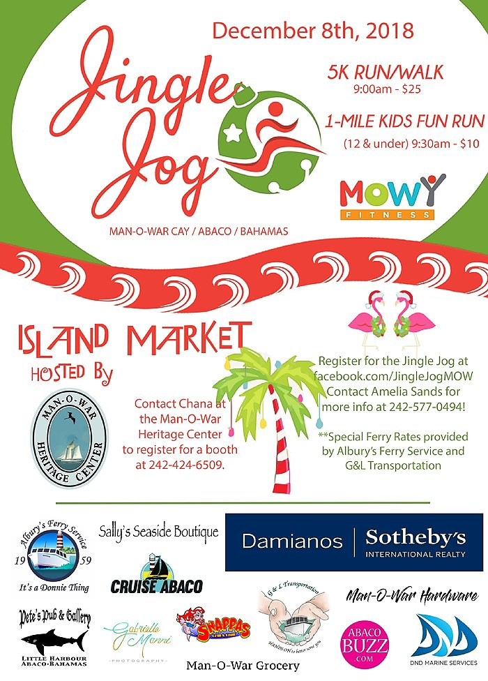 Jingle Jog - Man-O-War Cay, Abaco