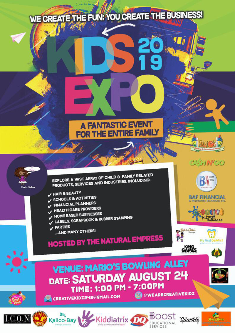 FUN DAY EXPO AT MARIO'S FOR BACK TO SCHOOL