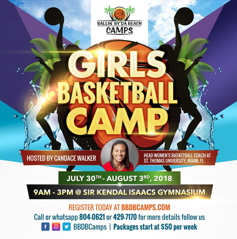 2018 Ballin' By Da Beach Girls' Basketball Camp
