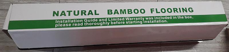 We Buy - U Sell Natural Bamboo Flooring