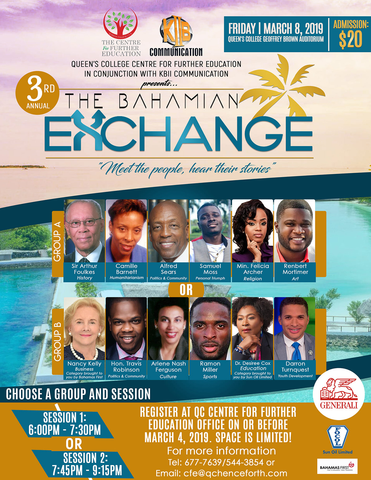 3rd Annual Bahamian Exchange