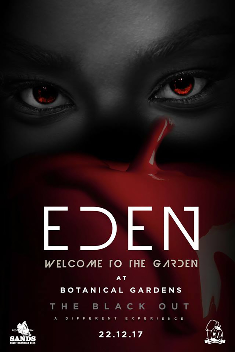 THE BLACK OUT: EDEN...Welcome to the Garden.