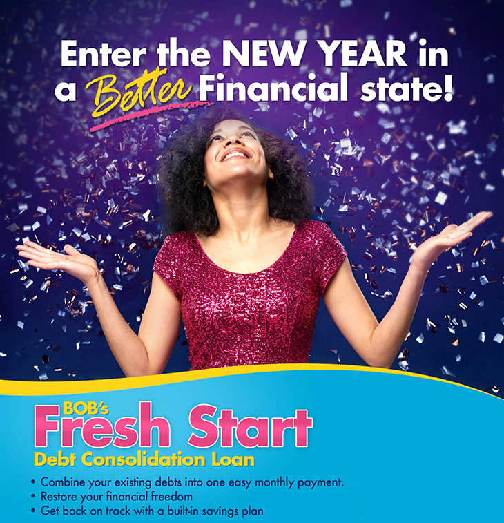Bank Of The Bahamas Limited | Fresh Start Debt Consolidation Loan