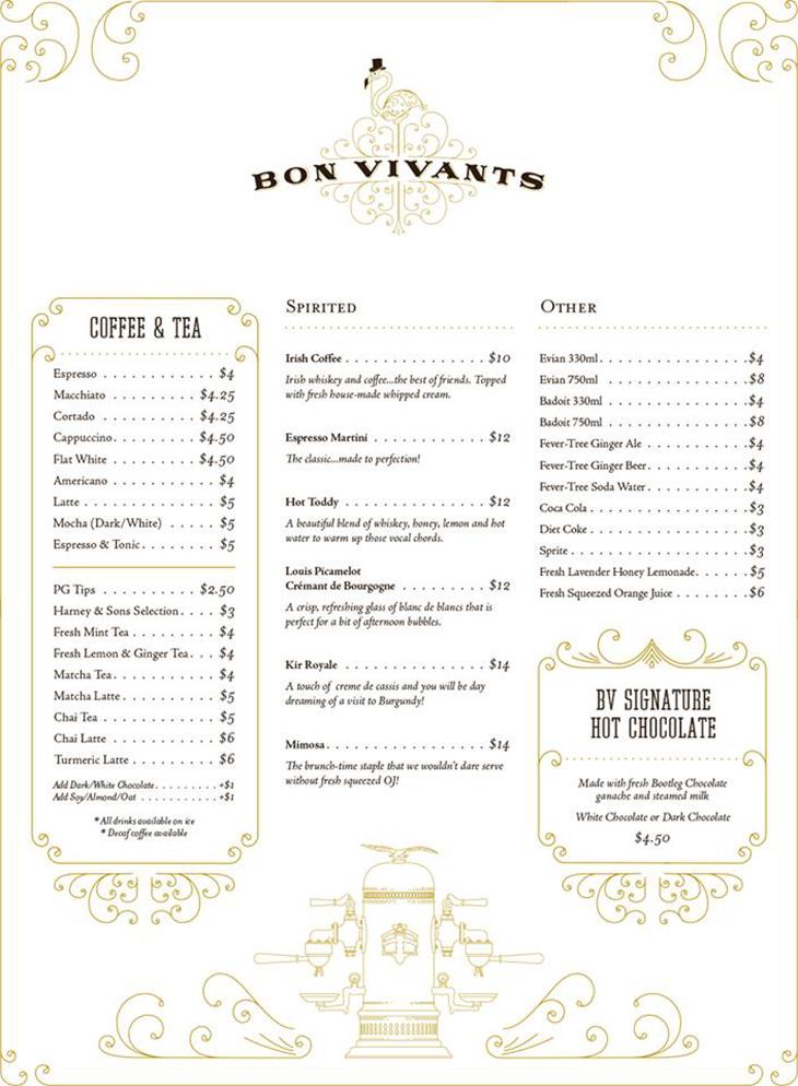 Bon Vivants Cafe