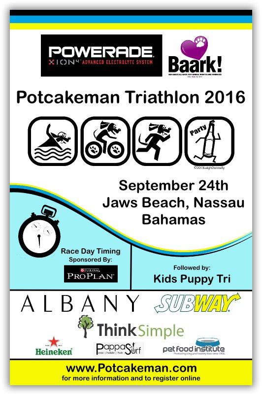 The Potcakeman Triathlon 2016