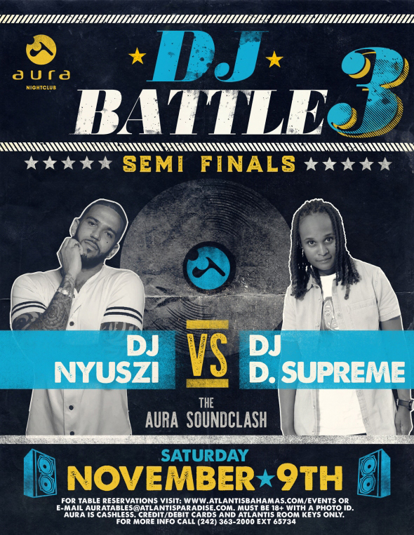DJ Battle 3 Semi Finals at Aura